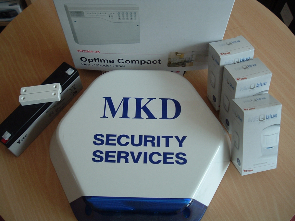 Mkd security alarms diy kits in the stoke on trent Best diy monitored alarm system